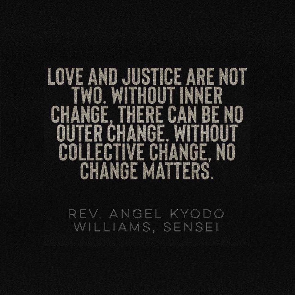 Without inner change - angel Kyodo Williams